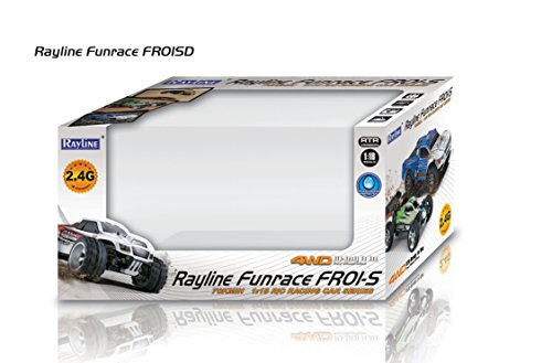 Rayline Funrace 01S-D - 1:18 Pro Short-Course Truck 4WD mit 1500 mAh LiPo Akku bis 70 km/h schnell - 3