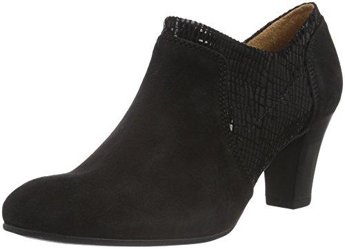 Caprice 24400, Chaussures À Talons Noirs Pour Femmes (black Comb 019)