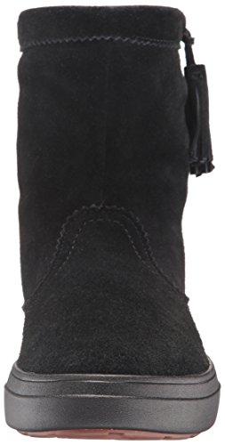 Crocs LodgePoint Suede Pullon Boot, Bottes Souples femme Noir (Black)
