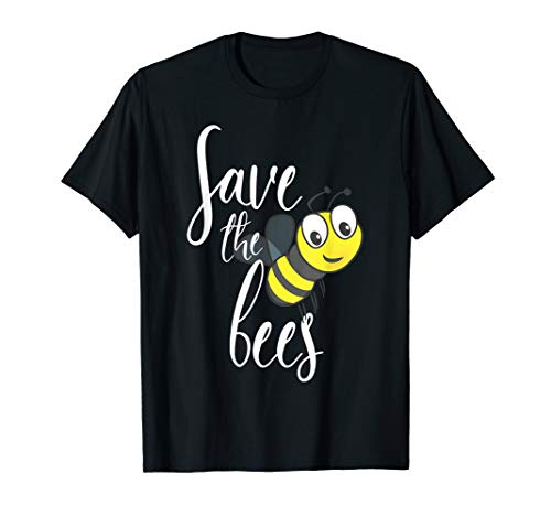 Save The Bees Rettet Die Biene Imker Earth Day Bee Bienen T-Shirt