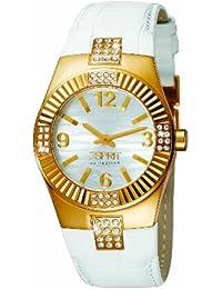 Esprit Damen-Armbanduhr Analog Quarz Leder EL900302007