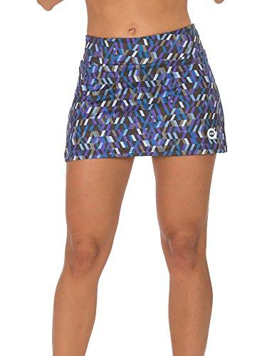 a40grados Sport & Style Fantasia Optic Rock, Skirt S Mehrfarbig (Estampado) Preisvergleich
