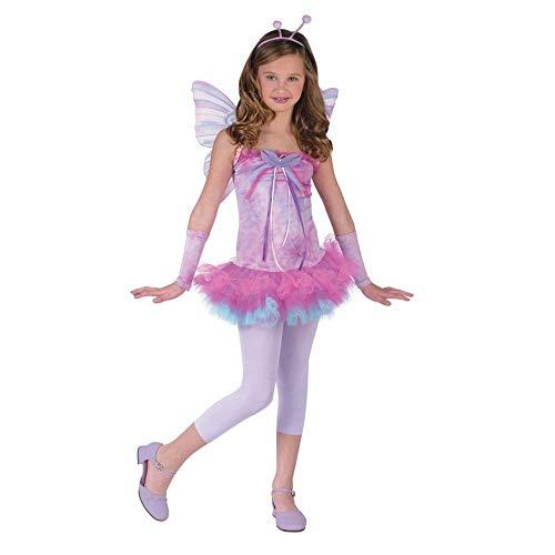fw121203Kollektion Fluttery Schmetterling Kleid Flügel Antennen Stirnband Strumpfhosen Teen 0-9