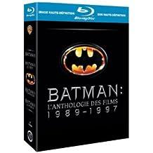Coffret Batman : Batman - Batman le défi - Batman forever - Batman et Robin