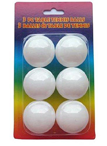 Tischtennisbälle weiss