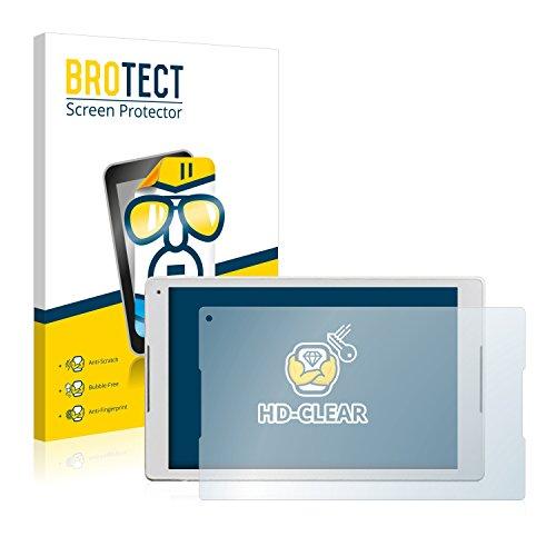 BROTECT Schutzfolie kompatibel mit Alcatel Plus 10 [2er Pack] klare Bildschirmschutz-Folie
