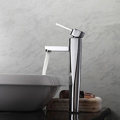 miaoge Waschbecken Wasserhähne zinntheken Messing Chrom (Danze Bad Wasserhahn)