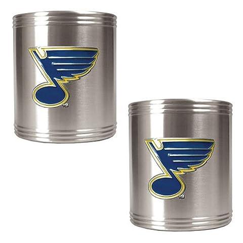 NHL 2pièces en acier inoxydable Peut support Ensemble, St. Louis Blues, Standard