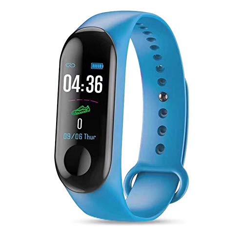 Leobtain Fitness Tracker mit Pulsmesser Slim Sports Activity Samrt Tracker Uhr wasserdichte Schrittzähler Uhr mit Schlafmonitor Step Tracker für Kinder Frauen und Männer