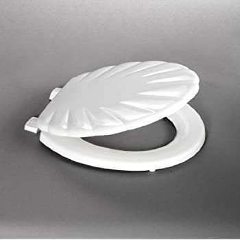 this item bemis white shell sculptured toilet seat