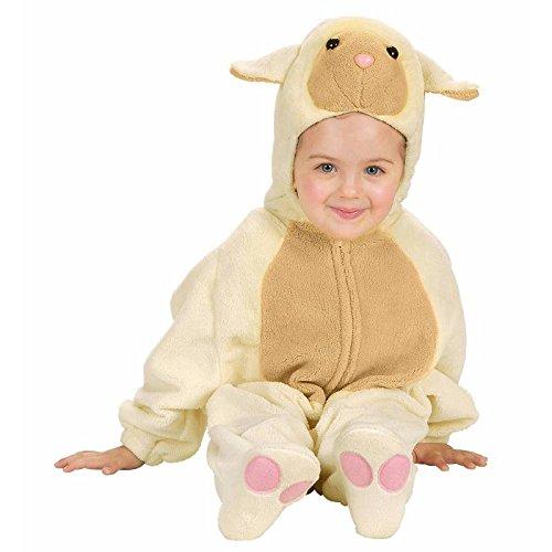 Kostüm Schaf Ohren - Widmann 2749A - Kostüm Baby Lämmchen