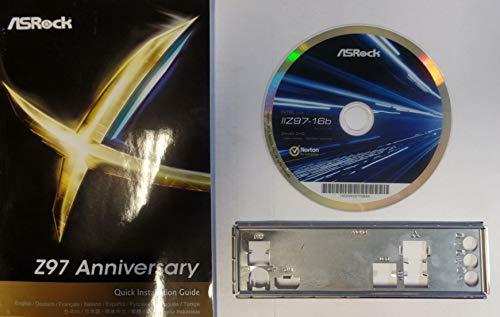 ASRock Z97 Anniversary - Handbuch - Blende - Treiber CD