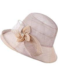 Screenes Sombrero para El Playa Sol para De Sombrero Mujer Sombrero Estilo  Simple del Sol Sombrero 31ba41a0db6
