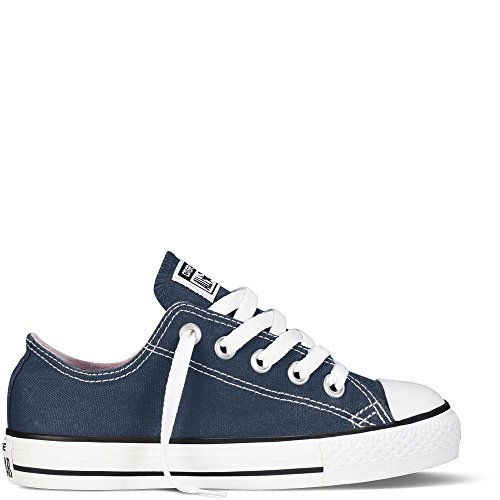 Converse Unisex-Kinder CTAS-OX-Navy-Youth Fitnessschuhe, Blau, 28/29 EU (Schuhe Youth Converse)