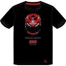 pritelli 1831205/XL Camiseta Hombre Jorge Lorenzo Diablo Helmet, Talla XL