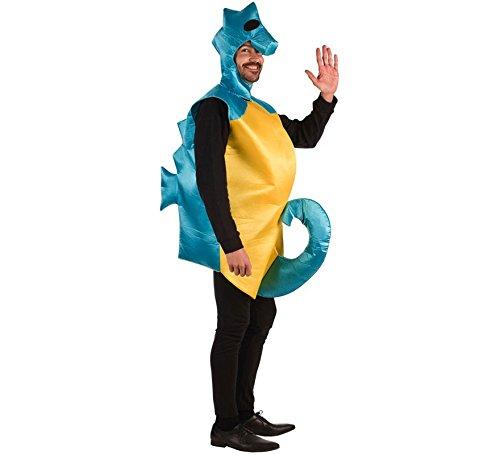 Kostüm Rey Erwachsene Für - EL REY DEL CARNAVAL, SL Zweifarbiges Seepferdchen Kostüm für Erwachsene Einheitsgröße