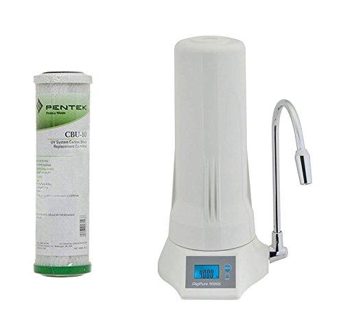 Novacqua - purificatore digipure 9000s sopra-lavello 0,5 micron