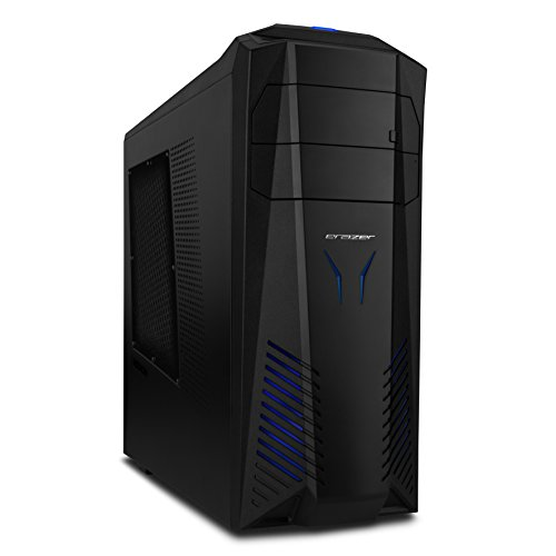 Medion X5322 G Erazer Gaming PC (Intel Core i7-6700K Prozessor, NVIDIA GeForce GTX 1070 Founders Edition, 16 GB RAM, 256 GB SSD+1 TB Festplatte, Win 10 Home) schwarz