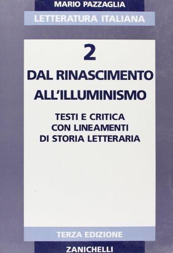 Letteratura italiana. Per i Licei e gli Ist. Magistrali: 2