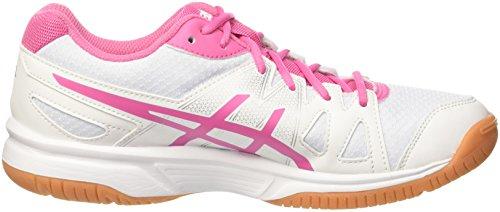 Asics Gel-upcourt, Gymnastique femme Multicolore (White / Azalea Pink / White)