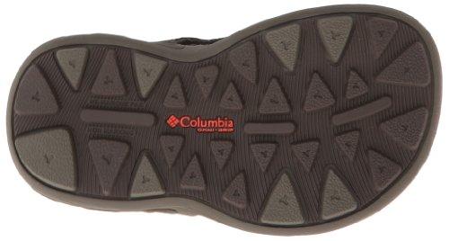Columbia Childrens Techsun Vent, Sandali unisex bambino nero (Black/Columbia Grey)