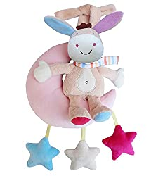 New Akira Infant Musical Crib Rabbit Hanging Toy