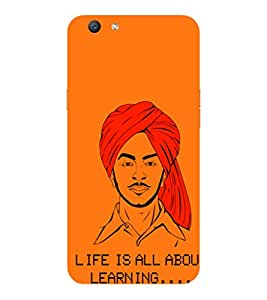 VIVO Y55S 2017 INQUILAB BHAGAT PRINTED BACK CASE COVER by SHAIVYA