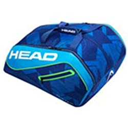 Head Tour Team Monstercombi Bolsa Pádel, Unisex Adulto, Negro, Talla Única
