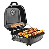 ATHENACREATIONS ACYL1515S Charcoal Base Portable Folding Barbeque Grill Toaster,Black
