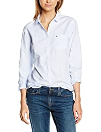 Tommy Hilfiger Damen Hemd Sithaca Stp Shirt Ls W3