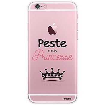 coque iphone 7 plus je suis une princesse