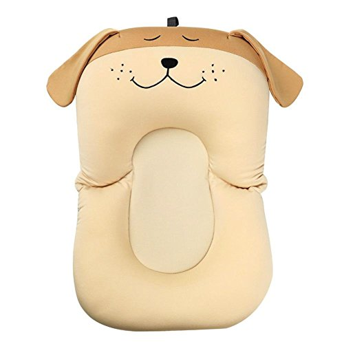 Chinatera Baby Boy's Safety Bath Seat Tub Rabbit Elephant Puppy One Size Khaki Puppy