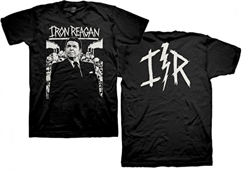 Iron Reagan - Top - Uomo Black Small