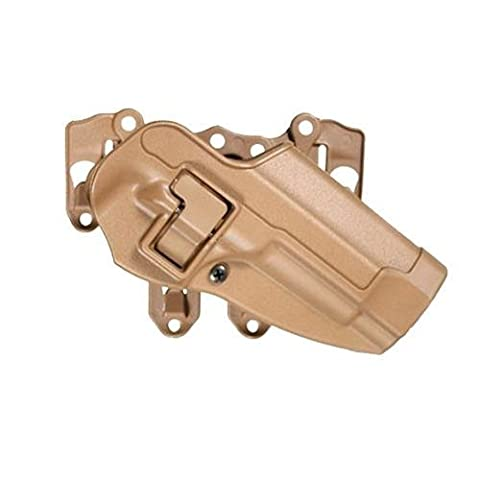 BlackHawk Products Group?Serpa S.T.R.I.K.E./MOLLE Tactical Holster-Right Hand?Tan, Beretta 92/96