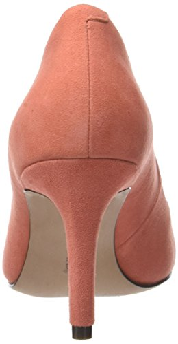 Clarks Damen Carlita Cove Slipper Orange (Coral Suede)