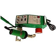 Inteligente PVC PE Flex Banner costura soldador con 1600 W Leister pistola de calor ...
