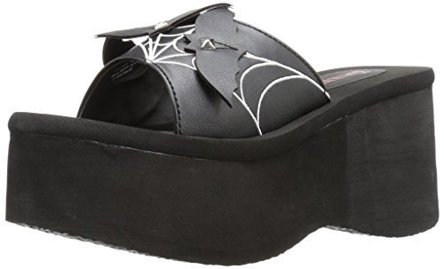 Demonia FUNN-30 Blk Vegan Leather