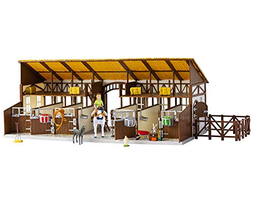 CRAZE BIBI & TINA Großer Martinshof Pferdestall Reiterhof inkl. Spielfiguren und Zubehör 14899