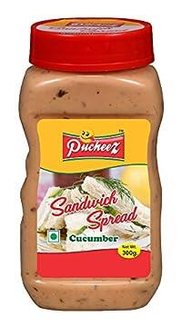 Pucheez Sandwich Spread Cucumber, 300 g