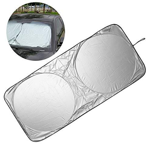 PeiXuan2019 Automóvil Ventana Automática Plegable Parasol Delantero Parasol Parabrisas Cubierta de protección Solar Protección UV
