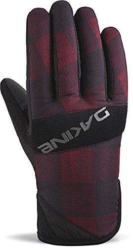 DAKINE-Herren-Handschuhe-Crossfire-Gloves-Red-Check-M-01300515