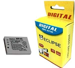 FUJI NP-40, NP40 remplacement de la batterie, Haute Capacité pour Fuji Fujifilm Finepix V10, J50, F402, F455, F455 Zoom, F460, F460 Zoom, F470, F470 Zoom, F480, F610, F610 Zoom, F650, F650 Zoom, F700, F700 Zoom, F710, F810, F810 Zoom, F811, Z1,Z1 Zoom,Z2,Z3 Zoom, Z5fd by Eclipse