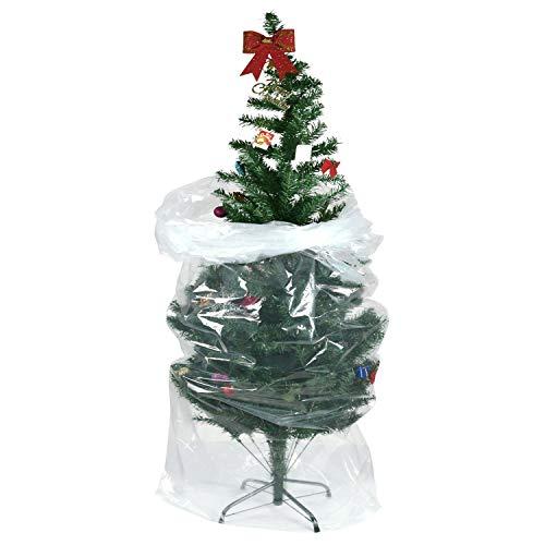 """TUPARKA Custodia Poly dell'albero di Natale?Borsa per Albero di Natale Large Size 110""""x 31.5"""" per Albero 7 ft"""