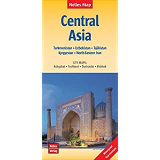 Central Asia: Zentralasien, Asie centrale, Asia Central; 1:1.750.000 (Nelles Map)