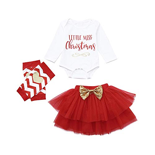 35f943f10 POLP Niño Regalo Navidad Niña Vestido Mono Bebe Rojo Navidad Bebe ...
