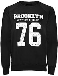 Cexi Couture - Sweatshirt pour femme manches longue chaud imprimé Brooklyn