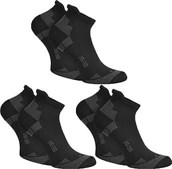 3 Paar Coolmax® Sneaker Sportsocken Farbe Schwarz Größe 35/38