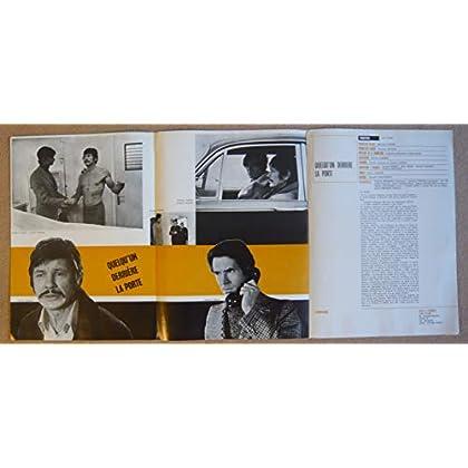 Dossier de presse de Quelqu'un derrière la porte (1970) – Film de Nicolas Gessner avec Charles Bronson, Anthony Perkins, Agathe Natanson – Photos N&B + couleurs – résumé du scénario – Très bon état.