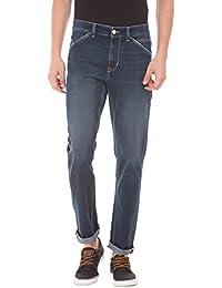 U.S. Polo Assn. U. S. Polo Assn. Men Blue Slim Jeans - B075NDCBCZ