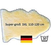 **NEU** Super-großes Lammfell LANABEST 3XL 110+. Super großes, medizinisches Merino Lammfell in Premium-Qualität. Schadstoffarm Öko-Tex 100. In Deutschland hergestellt. Dichtes Fell, weich, geruchsarm, 30 Grad waschbar. Ideal als Bettfell. Größe 110-120 cm